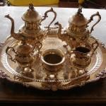 tea set silver service silver plate repair