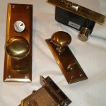 front door hardware restoration