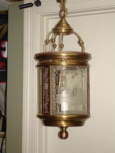 lantern restoration | hand satin finish | after