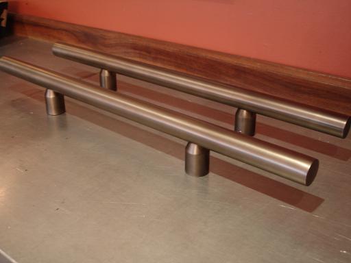 exterior handles | hardware restoration | satin finish lacquer