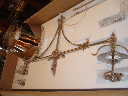 visual comfort chandelier | polished nickel | change finish