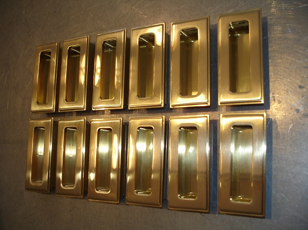 Recessed Pull | Polished Brass