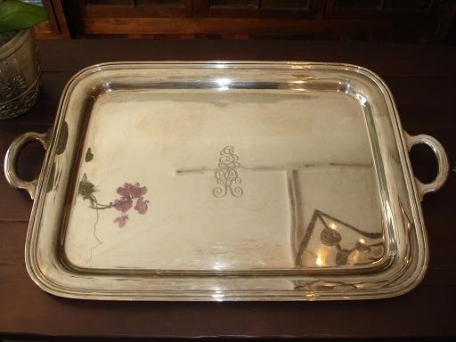 Sterling Silver Tray | Clean and Polish