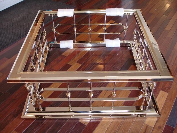 Restored Tables From Hurricane Katrina Polished Nickel